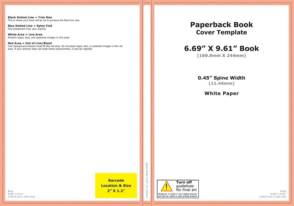Kích thước bìa sách